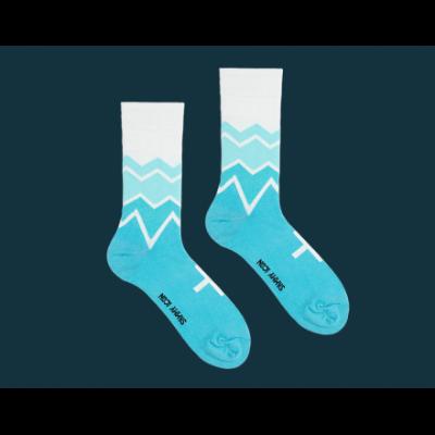 Длинные носки FITZROY AZURE
