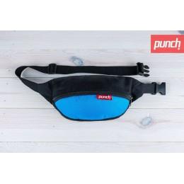 Поясная сумка PUNCH - Black/Sky