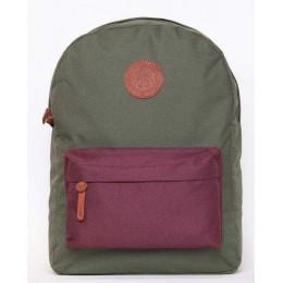 Рюкзаки GIN Бронкс 2 Хаки-фиолетовый