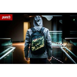 Рюкзак PUNCH - Black / Camo